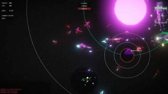 Watch My entire fleet getting wrecked :( GIF by @imaginaryrobot on Gfycat. Discover more gamedev, indiedev, madewithunity, screenshotsaturday GIFs on Gfycat