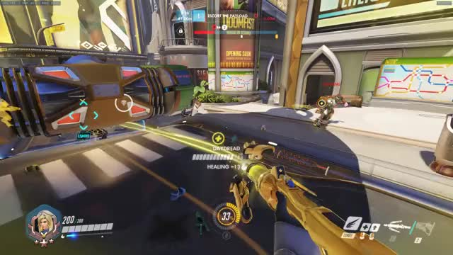 Watch Hanzo saves the day! GIF by @demoncat32 on Gfycat. Discover more Hanzo, Mercy, overwatch GIFs on Gfycat