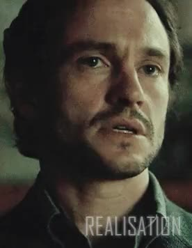 Watch Aislin GIF on Gfycat. Discover more *screams into tomorrow*, The Number of the Beast is 666, aislin rants, and oh wow look at this face, and suddenly he KNOWS, and suspicion starts to form in him, at first he really doesn't understand it, because it for a second it sounds crazy even in his head... hannibal in love?!, but Bedelia confirms it, but he has to ask it out loud, damn I can't get over this damn scene, hannibal, hannibal s3, hannibal spoilers, hannibaledit, hannigram, he FEELS it, how true it is, i can't get enough of his face, my gif, the pained lines on his forehead, the twitch in his jaw and the way his throat moves as he gulps, then look how his head snaps up when Bedelia hints at Will being the last wife of Bluebeard, will graham, with HIM?! GIFs on Gfycat