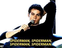 dylan o'bemyboyfriend, dylan o'brien, marvel, spider man, spiderman, Marvel.. please please please please pleasemake Dylan O'Brie GIFs