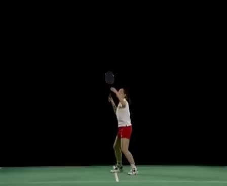 how to make badminton smash