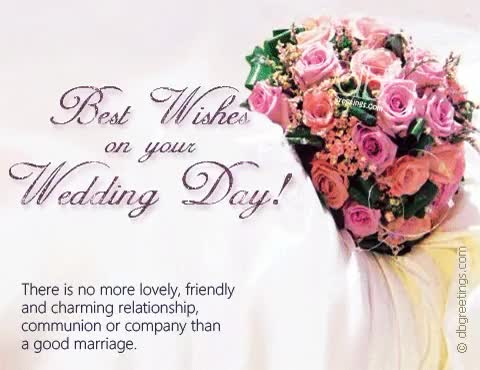 Watch and share Best Wishes On Your Wedding Day GIFs on Gfycat