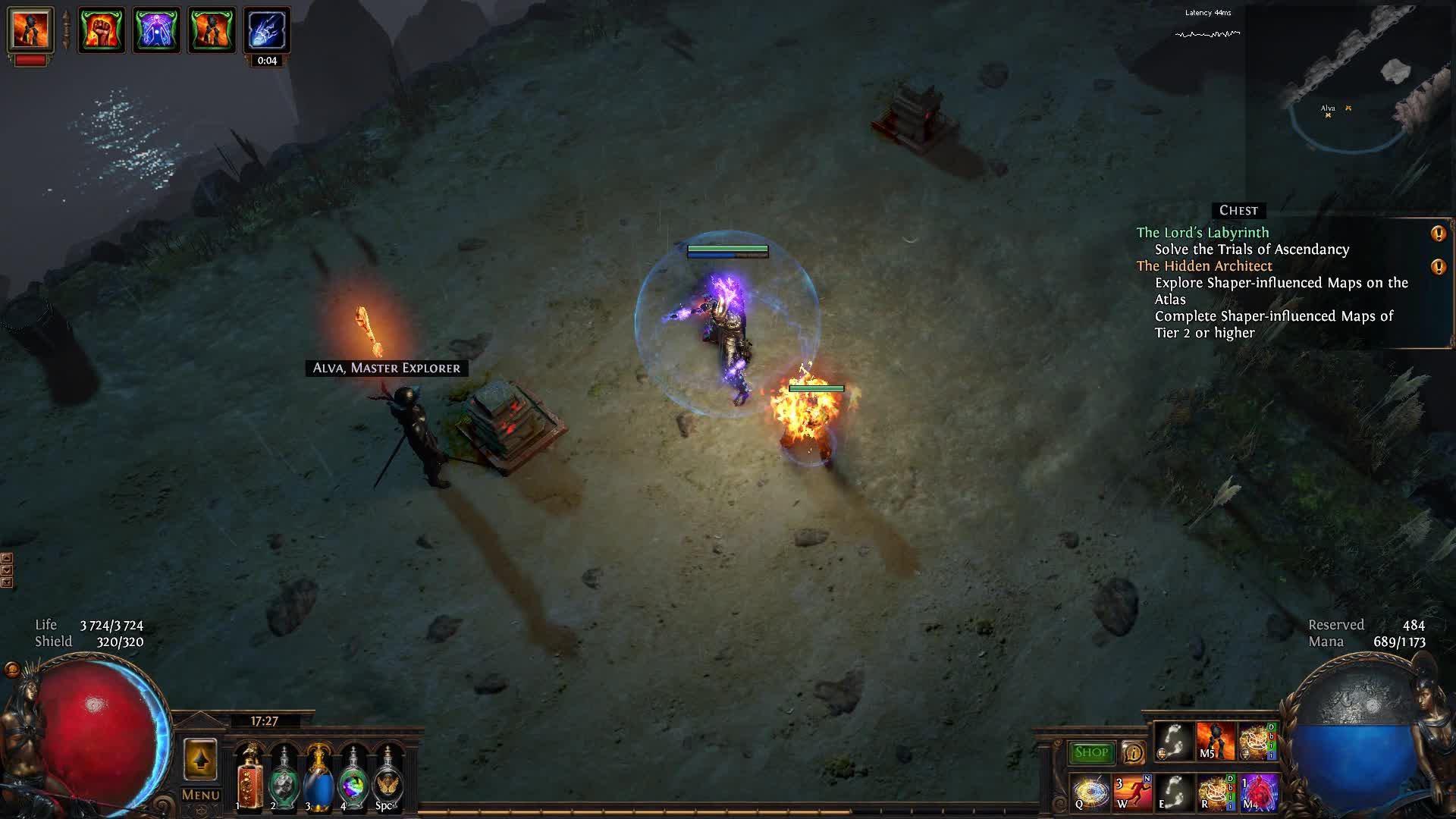 pathofexile, Alva came just in time GIFs
