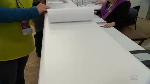 Watch Tasmania's big senate ballot paper GIF by Sam Ikin (@samikin) on Gfycat. Discover more related GIFs on Gfycat