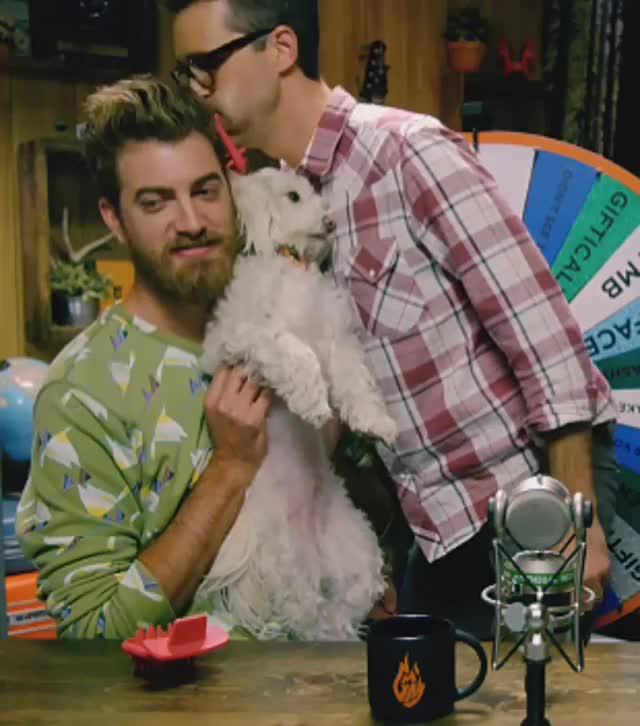 Watch and share Rhett Mclaughlin GIFs and Celebs GIFs by nartufoxy on Gfycat