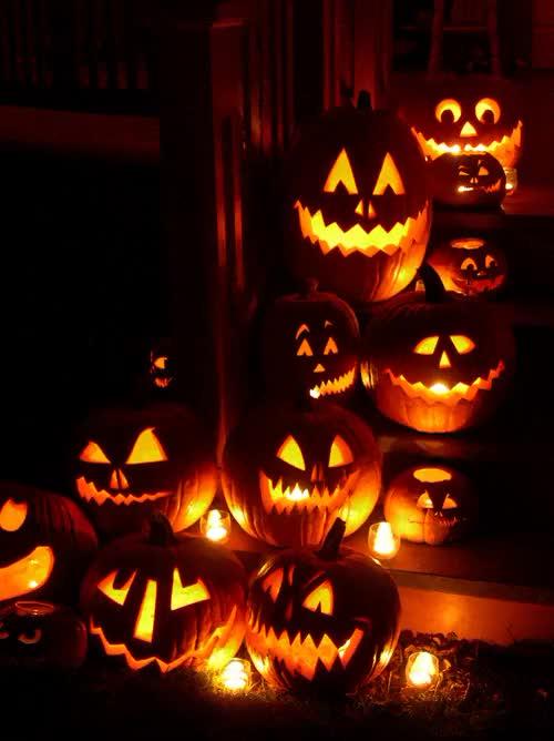 Watch and share Happy Halloween GIFs and Jack O Lantern GIFs on Gfycat