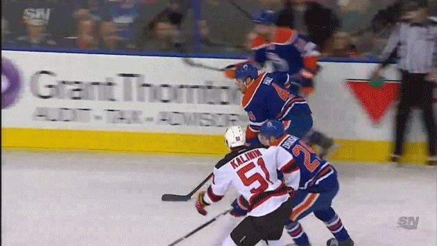 edmontonoilers, hockey, Draisaitl goal 1-0 EDM GIFs