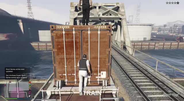 Watch TRAIN GIF by Xbox DVR (@xboxdvr) on Gfycat. Discover more GrandTheftAutoV, stethepea16, xbox, xbox dvr, xbox one GIFs on Gfycat