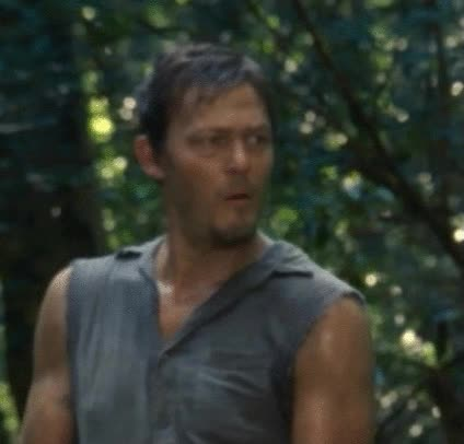 Watch and share Funny Walking Dead Daryl GIFs on Gfycat