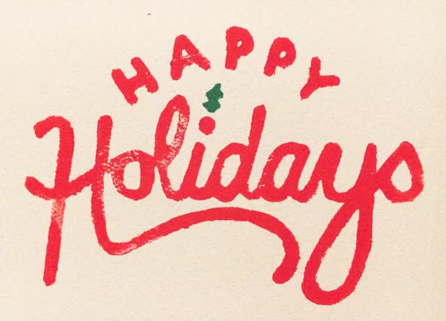 Watch and share Happy Holidays GIFs by Reactions on Gfycat