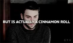 Watch and share Cinnamon Roll Meme GIFs and Conrad Ricamora GIFs on Gfycat