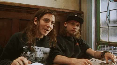 Watch and share Eddie Vedder GIFs and Jeff Ament GIFs on Gfycat