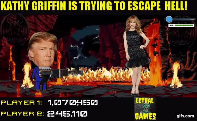 Watch and share Kathy Griffon GIFs and Donald Trump GIFs by Mick Lethal on Gfycat
