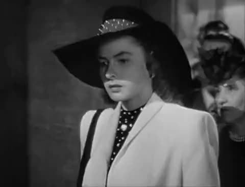 Watch Notorious Alicia Introduction GIF on Gfycat. Discover more 1946, alicia, hitchcock, ingrid bergman, notorious GIFs on Gfycat