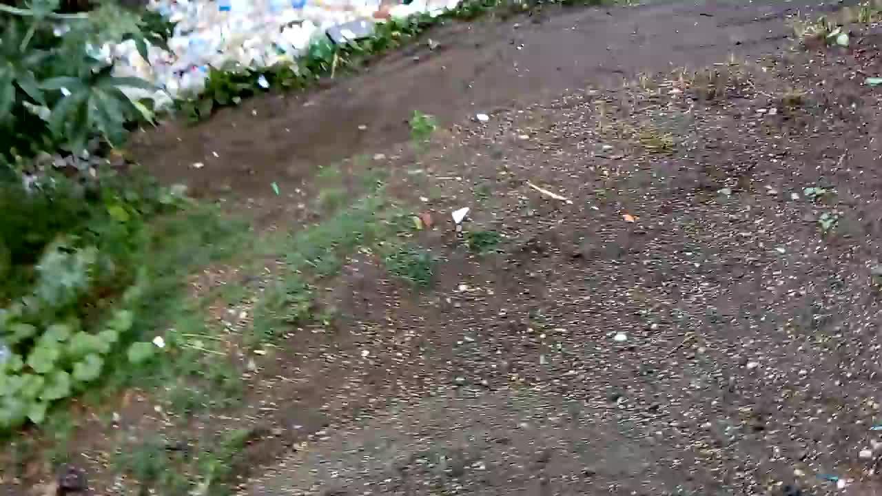 2017, Fail, Guatemala, environment, garbage, plastic, pollution, river, sad, viralhog, A River of Plastic Waste in Guatemala    ViralHog GIFs