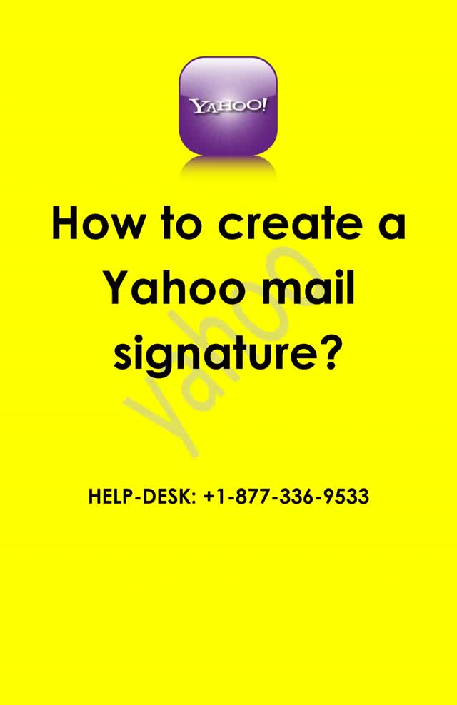 Watch and share How To Create A Yahoo Mail Signature? GIFs by Printer Help Number  on Gfycat