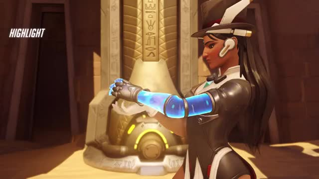 Watch and share Overwatch GIFs and Symmetra GIFs by Blaise Ian Abeysekra on Gfycat