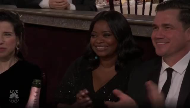 Watch this golden globes GIF by GIF Reactions (@visualecho) on Gfycat. Discover more Golden Globes, GoldenGlobes, Octavia Spencer, hello, hey, hi GIFs on Gfycat