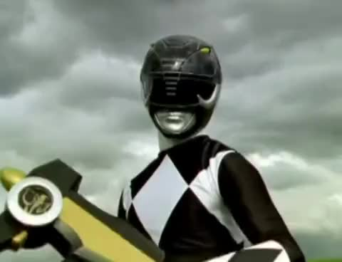 Watch and share Power Rangers - Black Rangers Weapons And Vehicles (Mighty Morphin - RPM) GIFs on Gfycat