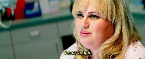 gfycatdepot, penis, rebel wilson, Penis magic [Pain and Gain 2013 Rebel Wilson magical cock dick dickbutt butt wizard wizardry witch craft witchcraft] (reddit) GIFs