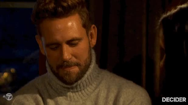 Watch and share The Bachelor Nick Turtleneck - Bad Books, Good Times GIFs on Gfycat