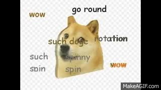 Watch and share The Spinning Doge .gif With Fitting Music GIFs on Gfycat