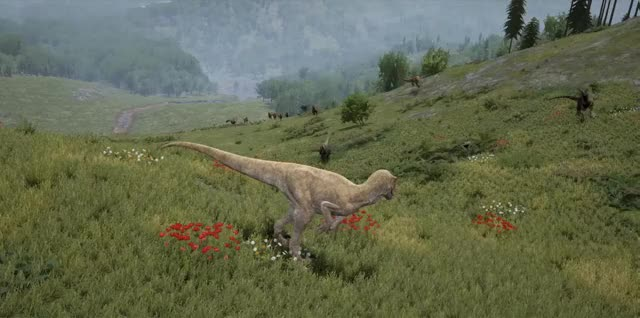 Watch and share Dinosaur GIFs and Survival GIFs by MsCatbug on Gfycat