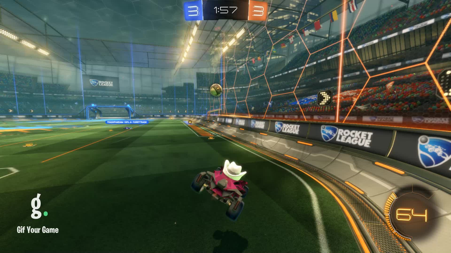 Gif Your Game, GifYourGame, Goal, Rocket League, RocketLeague, Wisconsin, Goal 7: Wisconsin GIFs