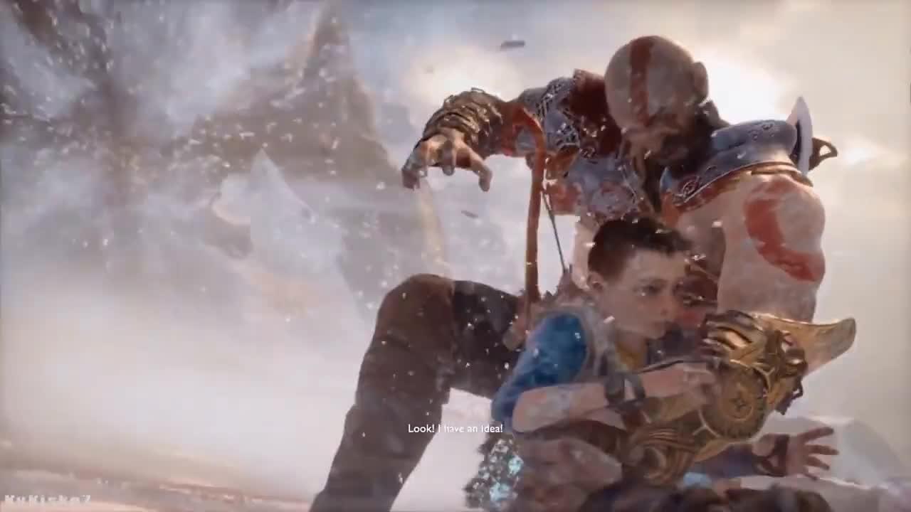 GodofWar, Kratos, atreus, baldur, god, war, Kratos and Atreus combo GIFs