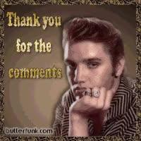 Watch and share Elvis Presley Good Night Photo: Elvis Presley Thank You Beautifulelvis.gif GIFs on Gfycat