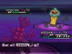 twitchplayspokemon, When Sceptile fainted from poison mid-dig. (reddit) GIFs