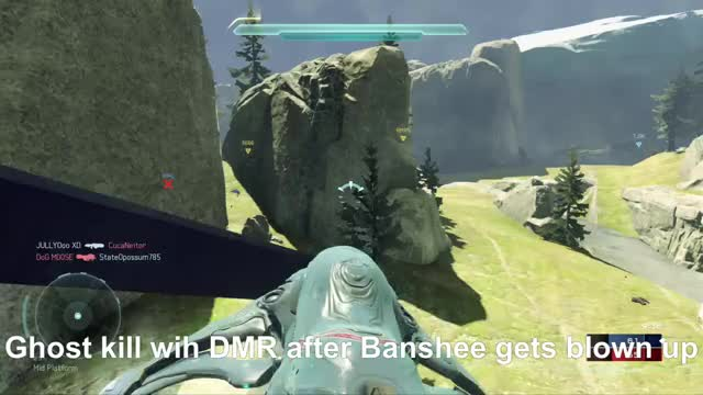 Watch BiggestDogg Boots on Ground: Banshee Explodes Ghost Kill GIF by xboxdvr on Gfycat. Discover more BiggestDogg, Halo5Guardians, xbox, xbox dvr, xbox one GIFs on Gfycat
