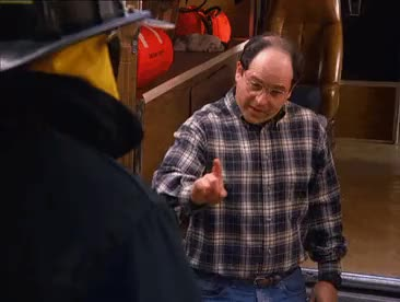 Watch this george costanza GIF by @criggles1 on Gfycat. Discover more cosmo kramer, elaine benes, george costanza, georgegifs, jason alexander, jerry seinfeld, julia louis-dreyfus, kramer, michael richards, seinfeld, seinfeldgifs GIFs on Gfycat