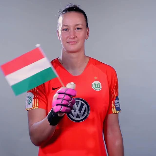 Watch and share 01 Flag HUN GIFs by VfL Wolfsburg on Gfycat