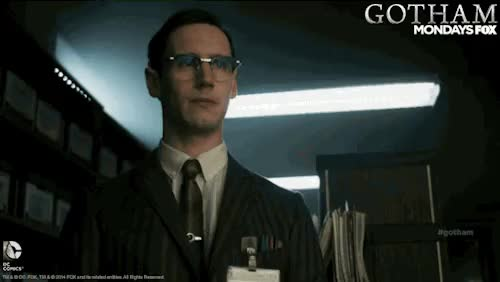 Watch Gotham GIF on Gfycat. Discover more dccomics, gcpd, gotham, kristen kringle, lol, nygma, pencil GIFs on Gfycat