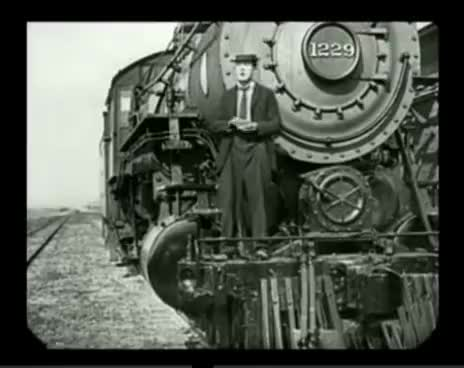 Watch and share Buster Keaton The Goat Lights Cigarette GIFs on Gfycat