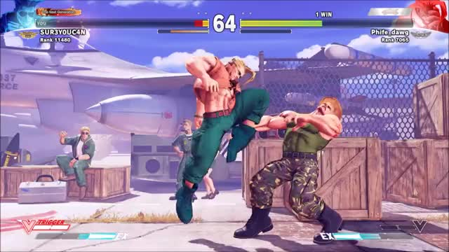 Watch and share Guile Please GIFs on Gfycat