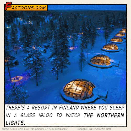 Who would love to watch the #northernlights in #finland ?Sou GIF