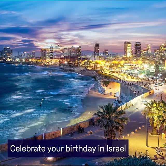 Watch and share Elal Birthday TLV May19 GIFs on Gfycat