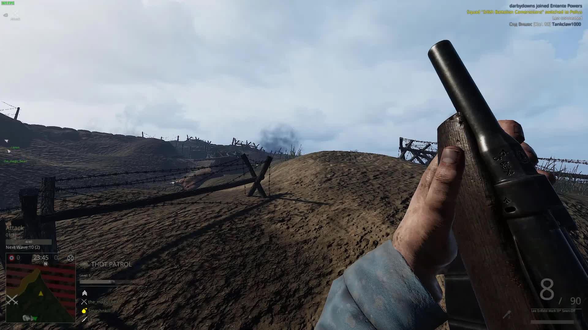Verdun, Lee Enfield Mark III* Sawn-Off GIFs