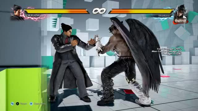 Watch and share How Mishima Players Practice GIFs by ethankairos on Gfycat