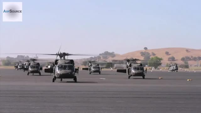 Watch and share Black Hawks And Chinooks Mass Takeoff. (reddit) GIFs by forte3 on Gfycat