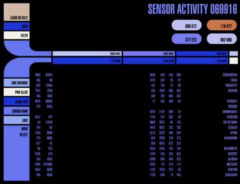 Watch Sensor Activity LCARS GIF on Gfycat. Discover more related GIFs on Gfycat