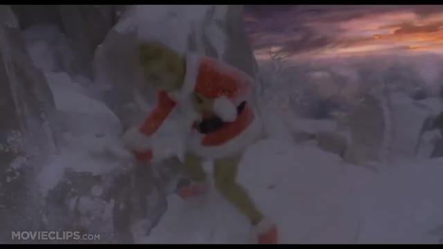 How the Grinch Stole Christmas (8/9) Movie CLIP - His Heart Grows Three Sizes (2000) HD amg 214077 0z4s 0lx2l jim carrey, anthony hopkins, animal videos, ages 11-12, ages 8-10, blockbusters, book characters, children family, family comedies, family sci-fi fantasy, brian grazer, ron howard, todd hallowell, louisa velis, aldric laauli porter, david womark, caring videos, mountain videos, narrator, grinch, movie clips, movieclipsdotcom GIF