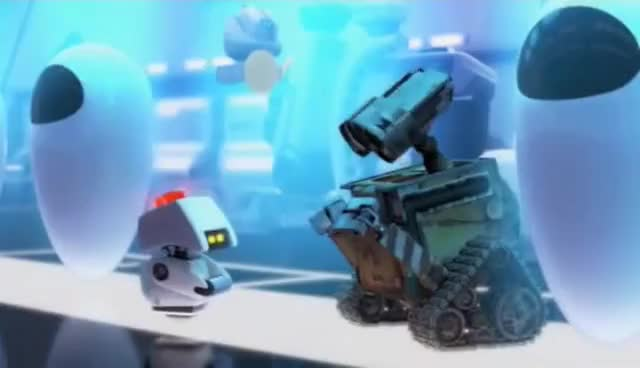 Watch and share Wall-e And Mo GIFs on Gfycat