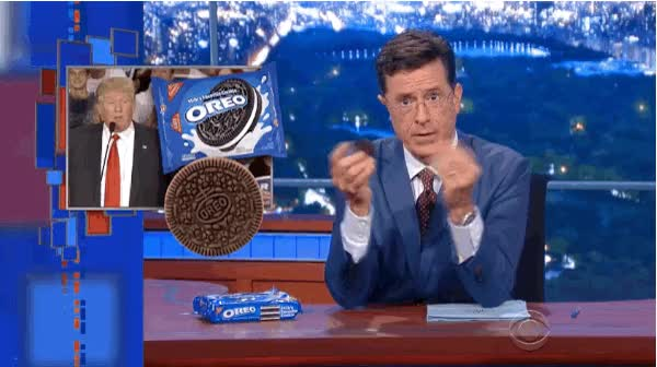Watch oreo GIF on Gfycat. Discover more stephen colbert GIFs on Gfycat