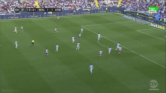 Watch Arda Turan dribbles through 5 Málaga players until he was fouled (reddit) GIF by @januzaj7 on Gfycat. Discover more atletico, soccer GIFs on Gfycat