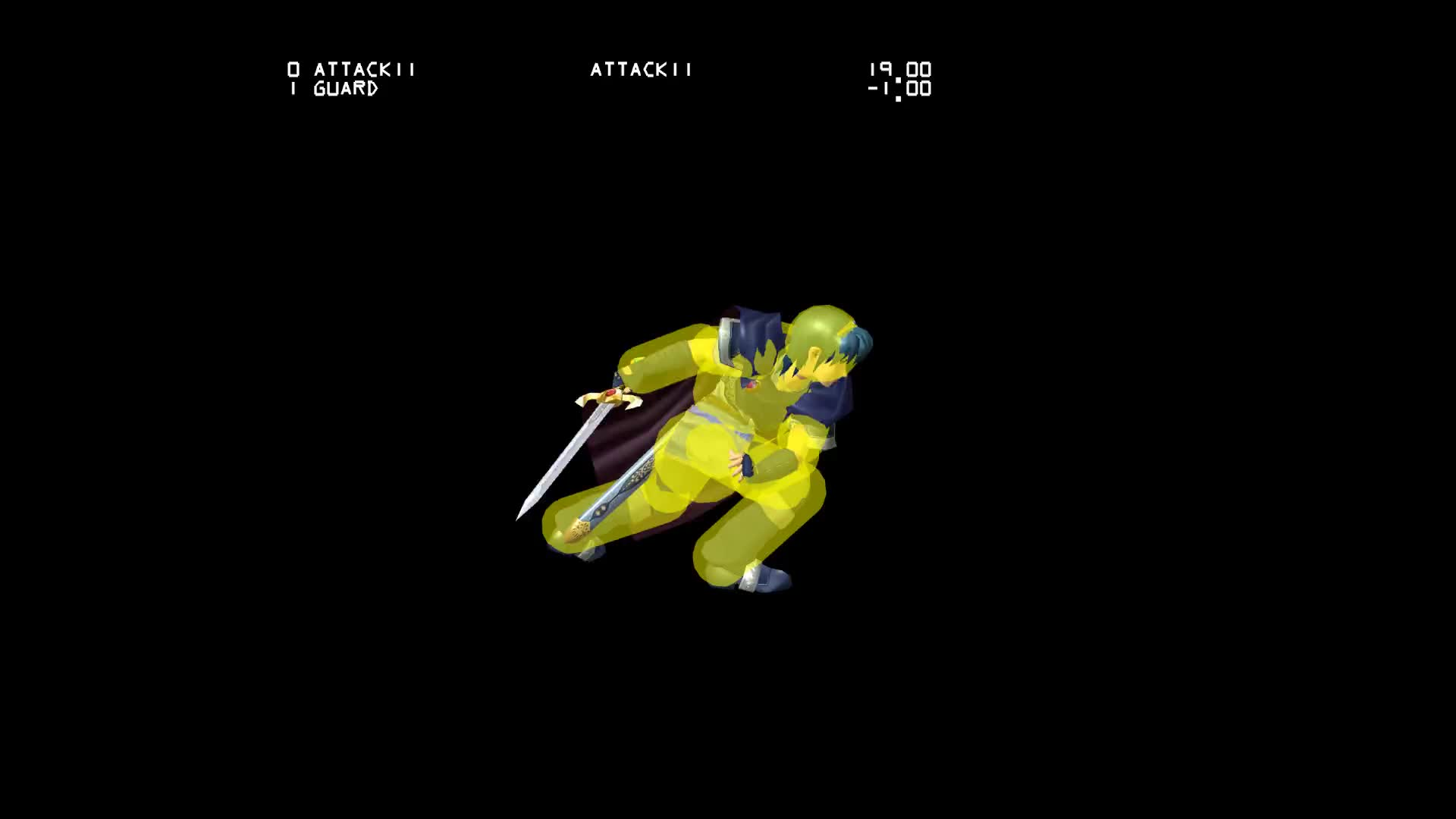 ▷ Marth - Down Throw GIF by melee-hitboxes - Find & Download