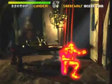 Cinder, Fighting Game, Killer Instinct GIF | Find, Make