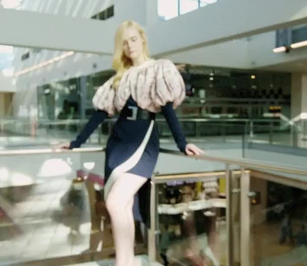 Watch and share L Fanning Instyle Oct GIFs on Gfycat